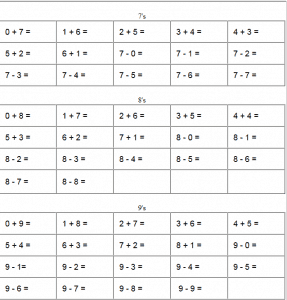 Free square root worksheets (PDF and html)