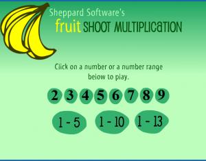 math facts shoot