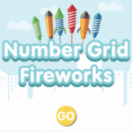 100 Number Grid Fireworks