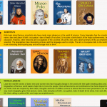 Online Biographies of Famous People (Informational Text): Grades 2-5