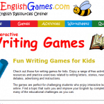 Online Writing Games (Grades 1-4)