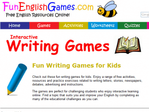 free writing games