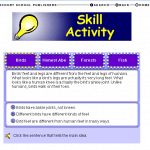 Main Idea (Key Ideas and Details) Online Game: Grades 2-5