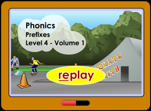 prefix activity game