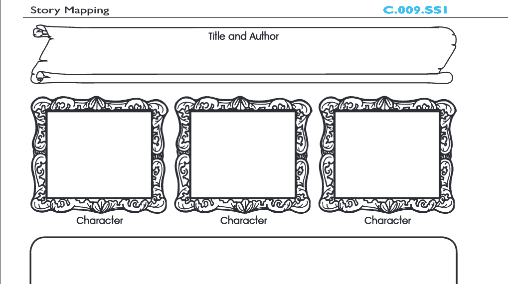 Story Mapping Worksheet: Grades 3-5 u00bb The Teachersu0026#39; Cafe