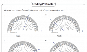 math worksheet : angles  printable worksheets » the teachers  cafe : Math Angle Worksheets