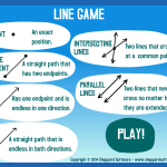 Lines & Angles- Rays, Perpendicular, Parallel Lines, and Angles Online Games