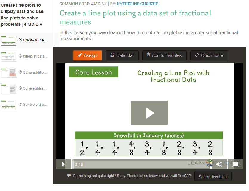 Teaching 4.MD.B.4 – Make a Line Plot to Display a Data Set of ...