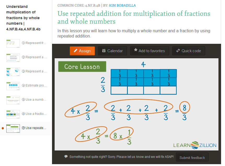 teaching nfb abc  understand a fraction ab as a multiple  multiplying fractions whole numbers