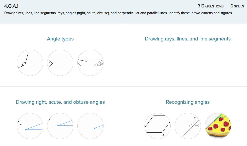 Printable Worksheets measuring line segments worksheets : Teaching 4.G.A.1 .2 – Draw Points, Lines, Line Segments, Rays ...