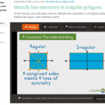 Teaching 4.G.A.3 – Recognize and Draw Lines of Symmetry & Identify Line-Symmetric Figures
